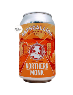 Bière Rapscallion Orange Zest IPA 33 cl Brasserie Northern Monk