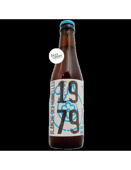 Bière Blanche Des Honnelles Witbier 33 cl Brasserie de l'Abbaye des Rocs