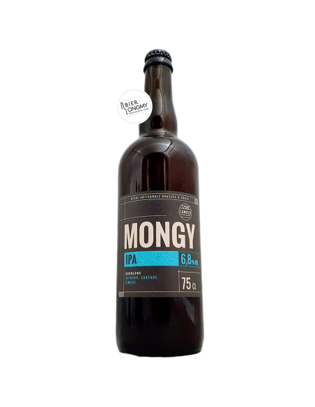 Bière Mongy IPA 75 cl Brasserie Cambier