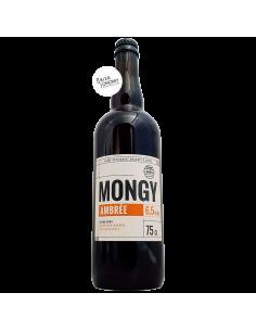 Bière Mongy Ambrée 75 cl Brasserie Cambier