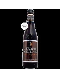 Bière Straffe Hendrik Brugs Quadrupel 33 cl Brasserie Brouwerij De Halve Maan