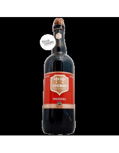 Bière Chimay Rouge Première Belgian Dubbel 75 cl Brasserie de l'Abbaye de Scourmont