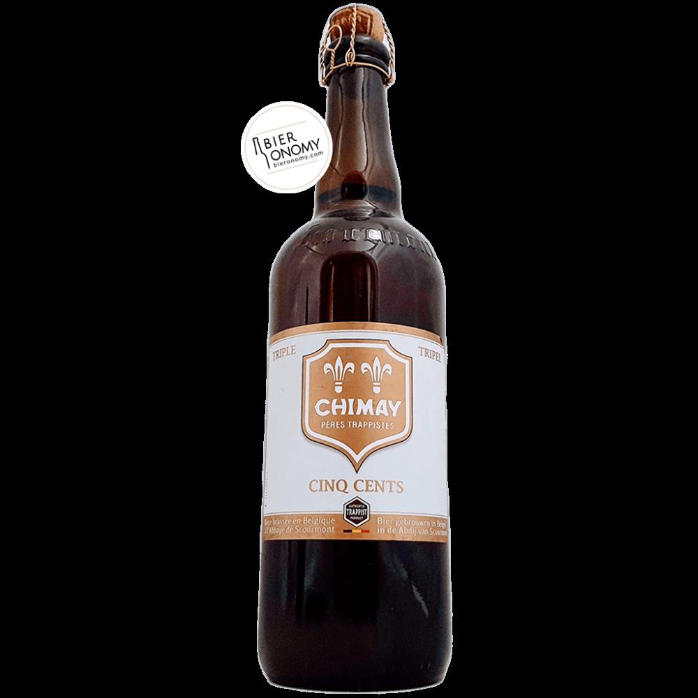 Bière Chimay Cinq Cents Belgian Tripel 75 cl Brasserie de l'Abbaye de Scourmont