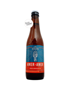 Bière Amer-Amer Belgian IPA 33 cl Brasserie Brouwerij De Ranke