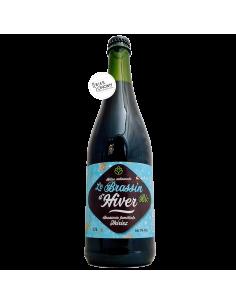 Bière Le Brassin d'Hiver Ambrée Bio 75 cl Brasserie Thiriez
