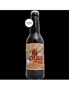 Bière La Rioule Hallertau Blanc IPA 33 cl Brasserie de la Vallée du Giffre