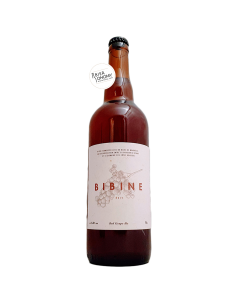Bière Bibine Red Grape Ale 75 cl Brasserie Veyrat
