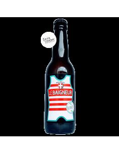 Bière Blanche American Wheat Ale 33 cl Brasserie Le Baigneur