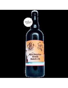 Bière Éphémère 5 Rye Session Kveik 75 cl Brasserie Les Deux Branches