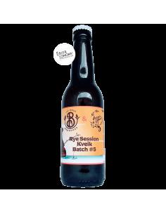 Bière Éphémère 5 Rye Session Kveik 33 cl Brasserie Les Deux Branches