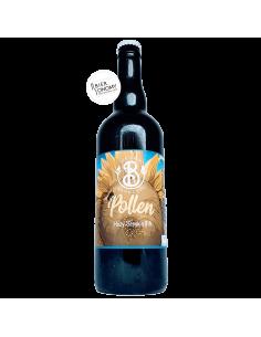 Bière Pollen Hazy Session IPA 75 cl Brasserie Les Deux Branches