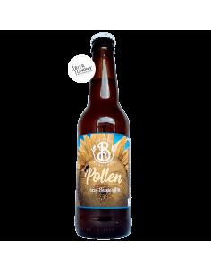 Bière Pollen Hazy Session IPA 33 cl Brasserie Les Deux Branches