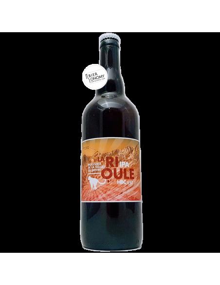 Bière La Rioule HBC 692 IPA 75 cl Brasserie de la Vallée du Giffre