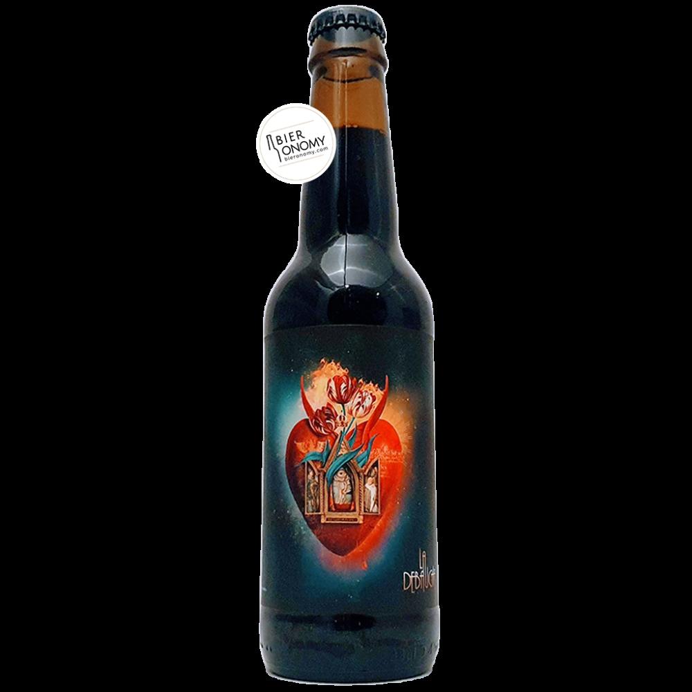 Bière Sacred Heart V Eisbock Imperial Stout Palo Santo 33 cl Brasserie La Débauche