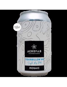 Bière Tourbillon V4 Single Hop Mosaic IPA 33 cl Brasserie Aerofab
