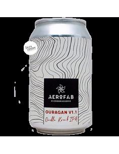 Bière Ouragan V1.1 Double Kveik IPA 33 cl Brasserie Aerofab