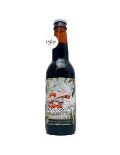 Bière Ingredient Quest Imperial Oatmeal Stout 33 cl Brasserie Piggy Brewing