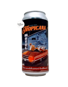 Bière Tropicana Motel Double NEIPA 44 cl Brasserie Piggy Brewing