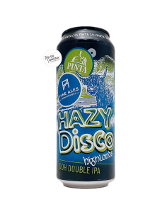 Bière Hazy Disco Highlands DDH DIPA 50 cl Brasserie PINTA x Fyne Ales