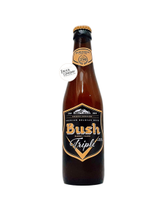 Bière Bush Blonde Triple 33 cl Brasserie Dubuisson
