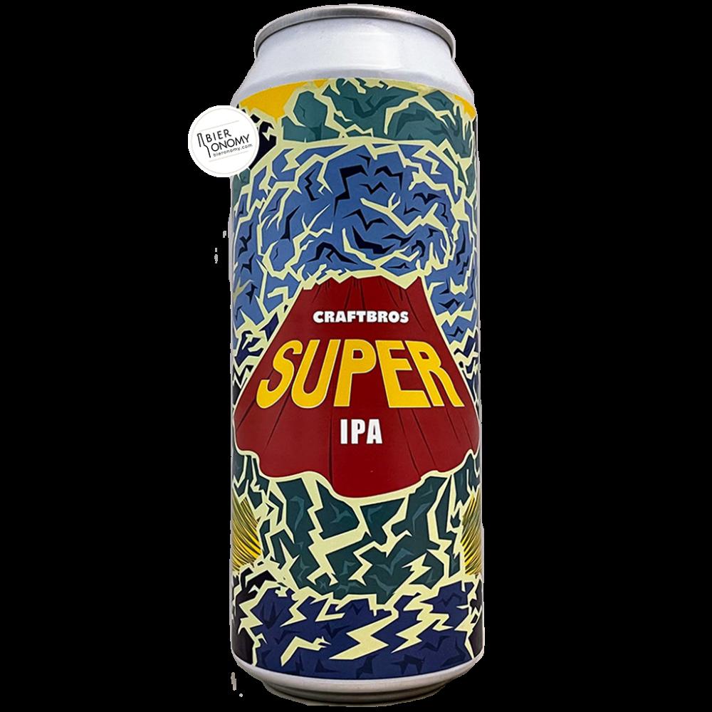 Bière Super IPA New England 50 cl Brasserie Craftbros