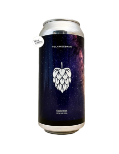 Bière Exploration DDH NE DIPA 44 cl Brasserie Folkingebrew