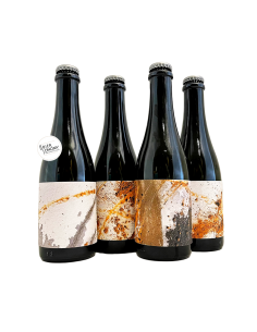 Box Yeast Trio Barrel Aged Saisons 4x37,5 cl Brasserie La Malpolon