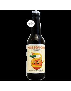 Bière Pesseguoun Wild Lachancea Peach Sour 33 cl Brasserie Sulauze Gobrecht