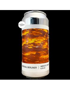 Bière Imperial Berliner Abricot Vanille 44 cl Brasserie Popihn