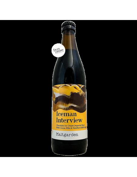 Bière Iceman Interview Imperial Pastry Stout 50 cl Brasserie Maltgarden