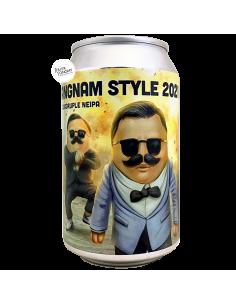 Bière Gangnam Style 2021 Confirmed Quadruple NEIPA 33 cl Brasserie Lobik