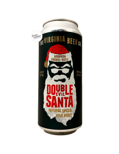 Bière Double Evil Santa Imperial Stout Bourbon BA 47,3 cl Brasserie The Virginia Beer Company