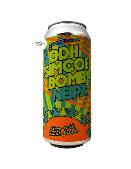 Bière DDH Simcoe Bomb NEIPA 47,3 cl Brasserie Sloop