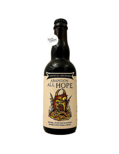 Bière Abandon All Hope 2020 Imperial Stout Whisky BA 37,5 cl Brasserie Orpheus