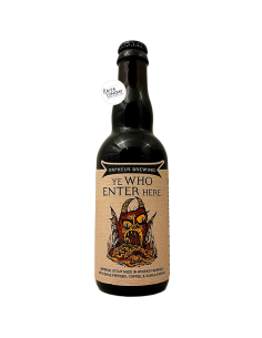 Bière Ye Who Enter Here 2020 Imperial Stout Whisky BA 37,5 cl Brasserie Orpheus