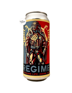 Bière REGIME Ghost 916 Hazy Triple IPA 47,3 cl Brasserie Adroit Theory