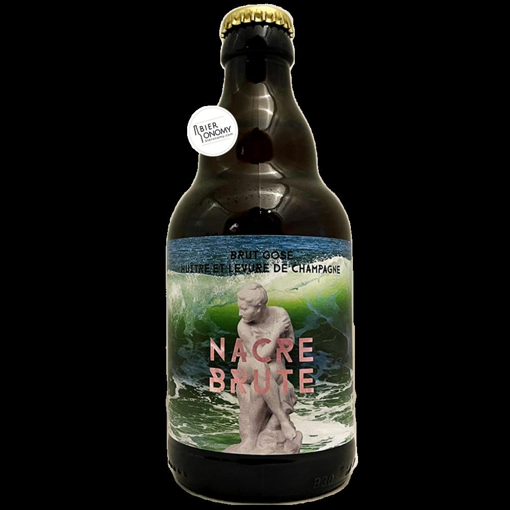 Bière Nacre Brute Gose 33 cl Brasseurs Cueilleurs