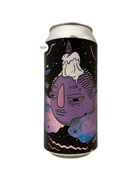 Bière Up Late Imperial Stout 44 cl Brasserie Left Handed Giant x Verdant