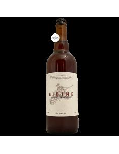 Bière Bibine Vieillie en Barrique Red Grape Ale 75 cl Brasserie Veyrat
