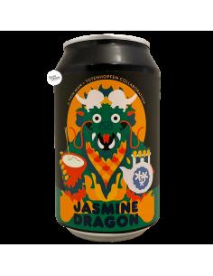 Bière Jasmine Dragon NEIPA Jasmine Rice & Tea 33 cl Brasserie Totenhopfen x Thin Man
