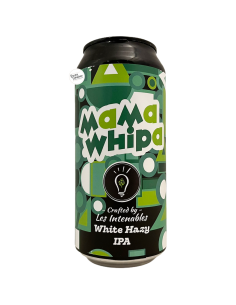 Bière Mama Whipa White Hazy IPA 44 cl Brasserie Les Intenables