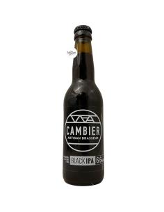 Bière Black IPA 33 cl Brasserie Cambier