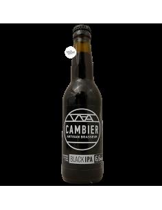 Bière Black IPA 33 cl Brasserie Cambier
