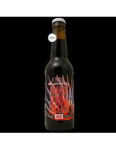 Bière Orange Stout & The Lash 33 cl Belafonte Brewing Brasserie Orbital