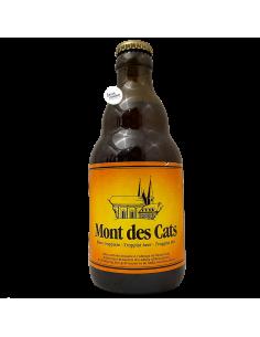 Bière Mont des Cats Ambrée Trappiste 33 cl Brasserie Abbaye