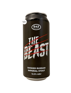Bière The Beast Smoked Russian Imperial Stout 44 cl Brasserie S43