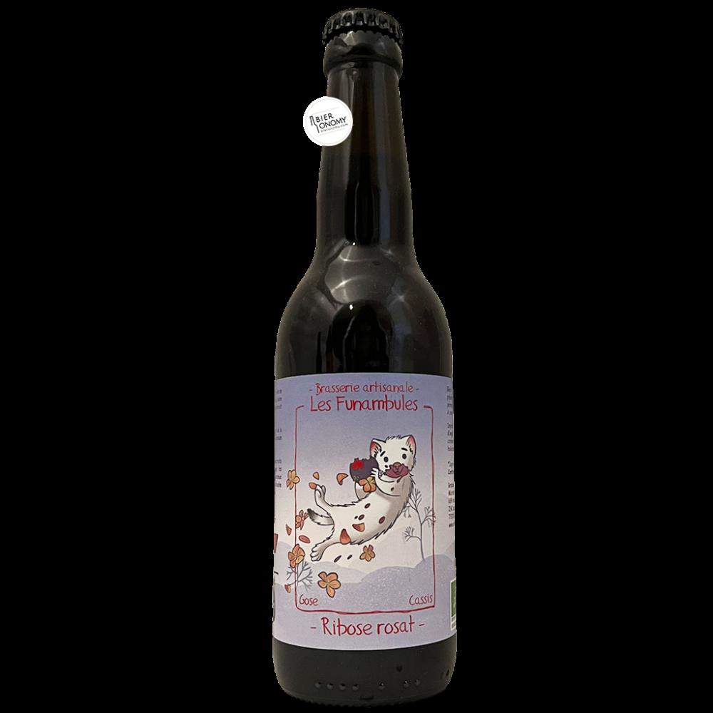 Bière Ribose Rosat Gose Cassis 33 cl Brasserie Les Funambules