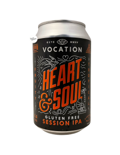 Bière Heart & Soul GF Session IPA 33 cl Brasserie Vocation