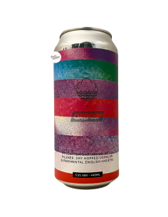 Bière Luppolo Britannico Pilsner 44 cl Brasserie Cloudwater x Oxbow
