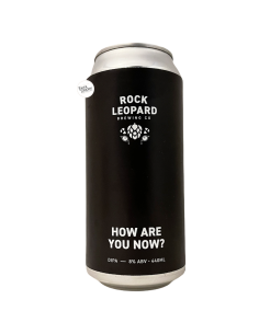 Bière How Are You Now? DIPA 44 cl Brasserie Rock Leopard x Cloudwater
